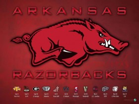 Arkansas Football Schedule Wallpaper