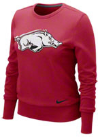 Arkansas Razorbacks Ladies Sweatshirt